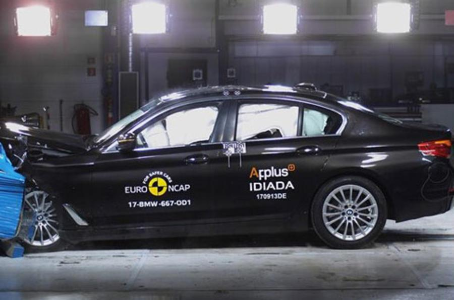 2017 BMW 5-series gets five-star safety rating