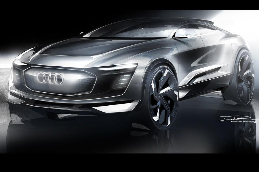 2017 Audi e-tron concept to be shown at Shanghai