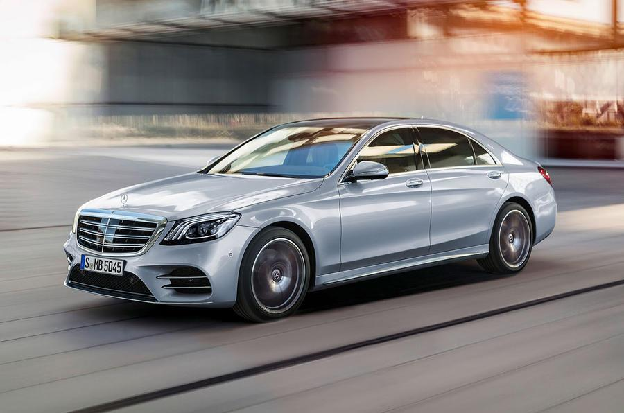 Mercedes S-class, Maybach and AMG facelifts revealed