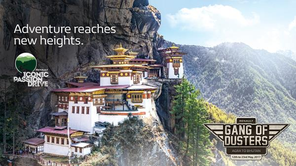 Sponsored: Gang of Dusters to drive from Agra to Bhutan
