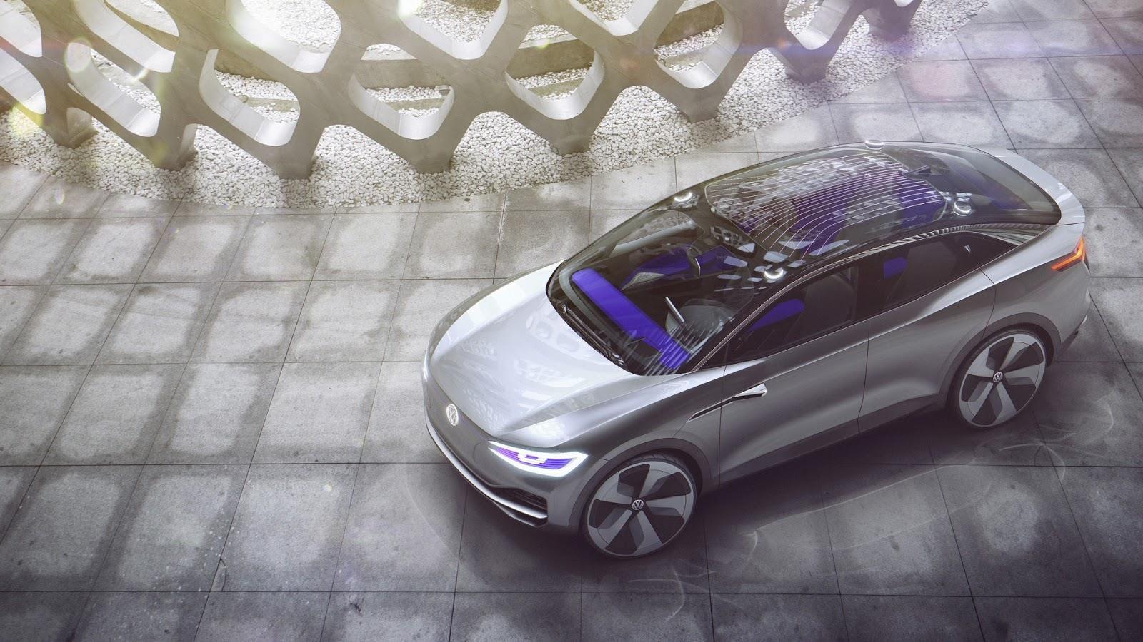 Volkswagen ID Crozz SUV concept revealed