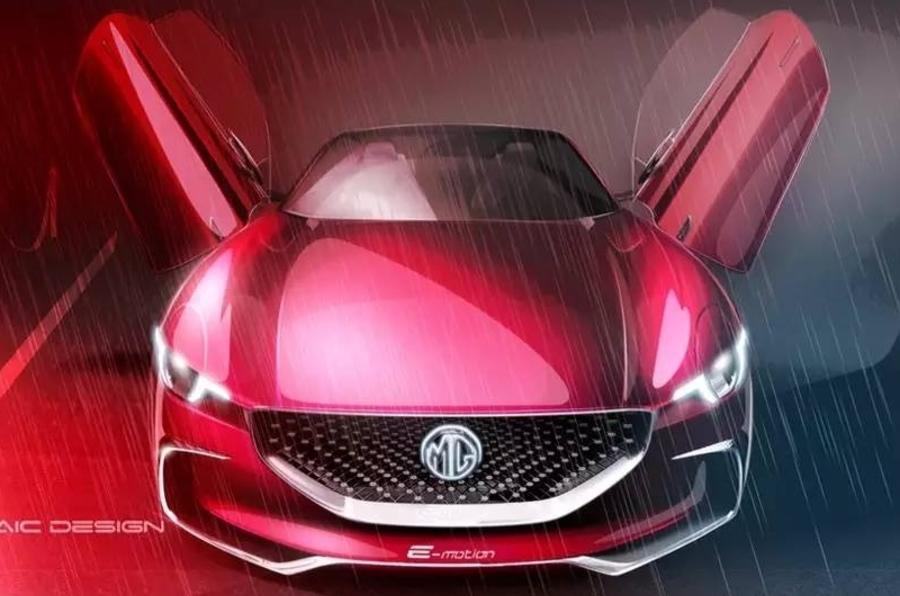 MG E-Motion supercar concept to be shown at Shanghai