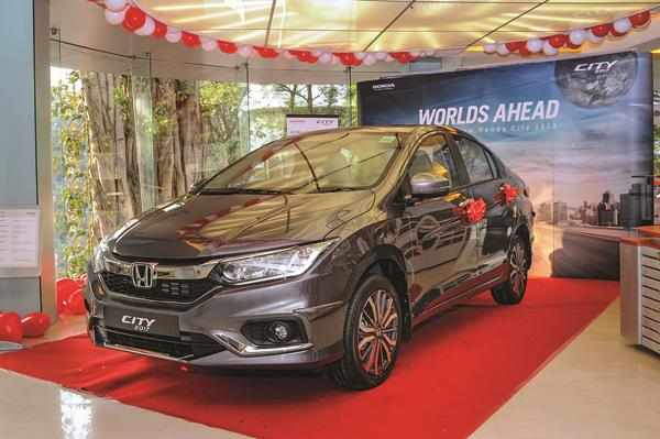 Feature-rich Honda City ZX in high demand