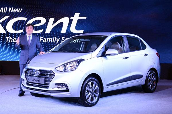 2017 Hyundai Xcent facelift launched at Rs 5.38 lakh