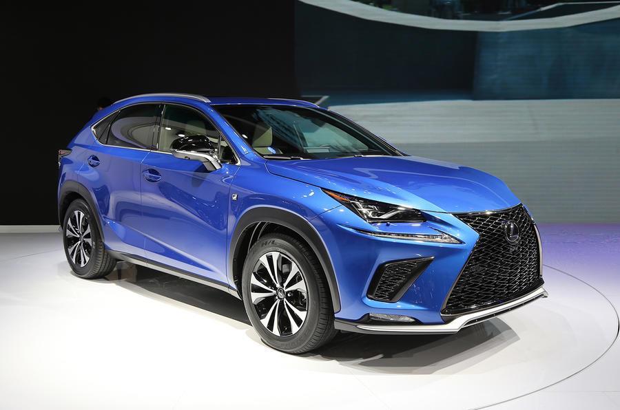 Lexus NX SUV facelift revealed