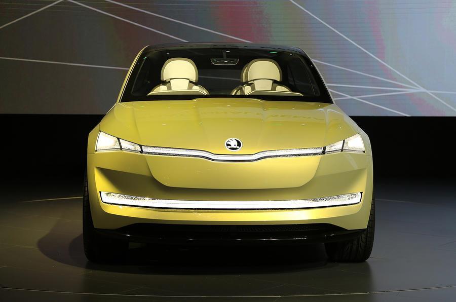 Skoda Vision E SUV concept revealed