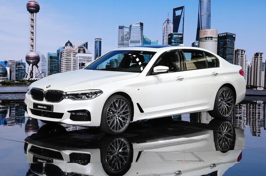 BMW 5-series long-wheelbase revealed