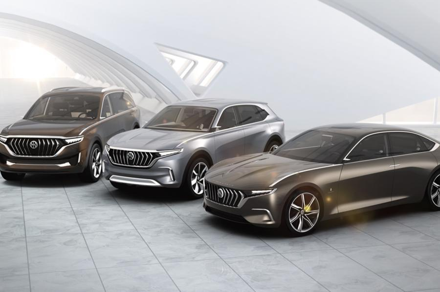 Pininfarina reveals EV concepts developed for Hybrid Kinetic Group in China