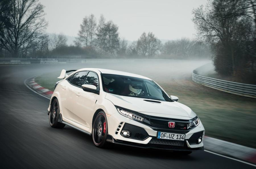 New Honda Civic Type R breaks a Nurburgring lap record
