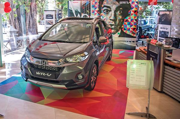 Automatic Honda WR-V being missed by customers