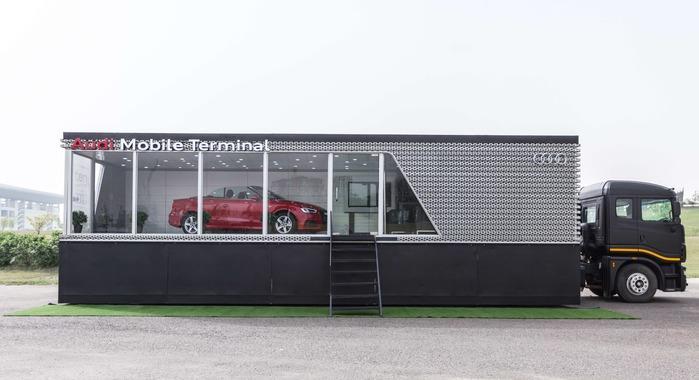 2017 Audi Mobile Terminal tour targets 40 cities