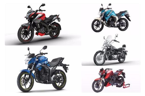 Top 5 bikes under Rs 1 lakh