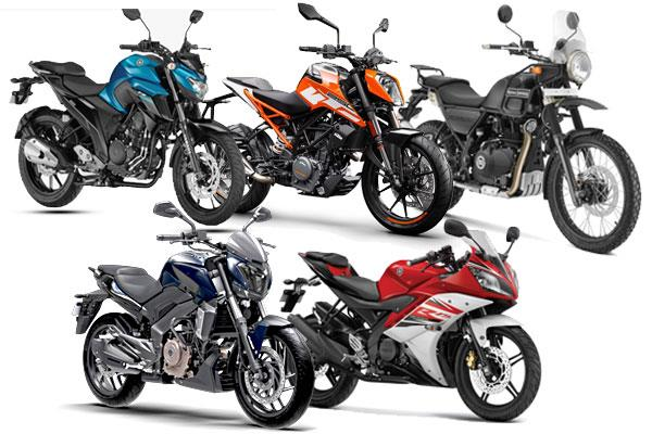 Top 5 bikes under Rs 2 lakh