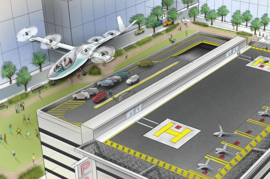 Uber plans flying taxis by 2020