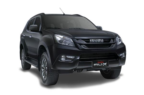 Isuzu MU-X Black Series (For representation purpose)
