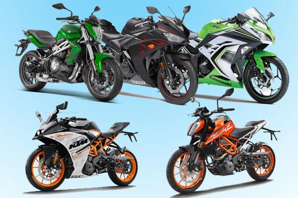 Top 5 bikes under Rs 4 lakh