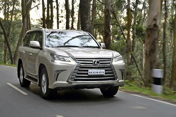 2017 Lexus LX450d review, test drive