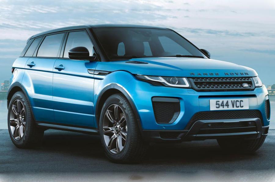 Range Rover Evoque Landmark edition revealed