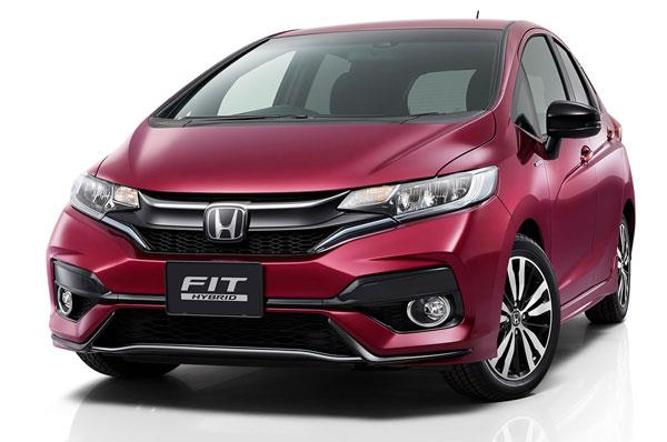 2018 Honda Jazz facelift revealed