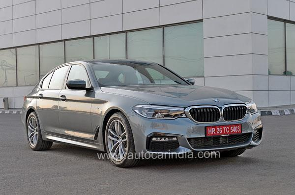 2017 BMW 5-series India launch on June 29