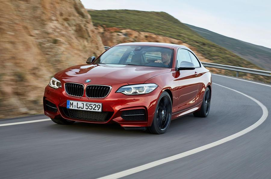 BMW 2-series facelift revealed