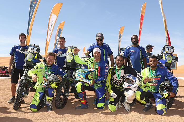 Strong result for Indian contingent at 2017 Merzouga Rally