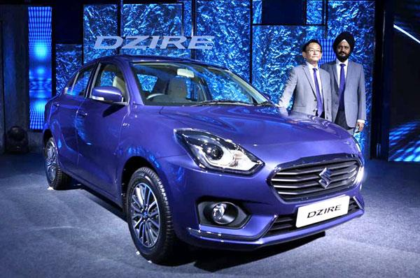 2017 Maruti Dzire launched at Rs 5.45 lakh