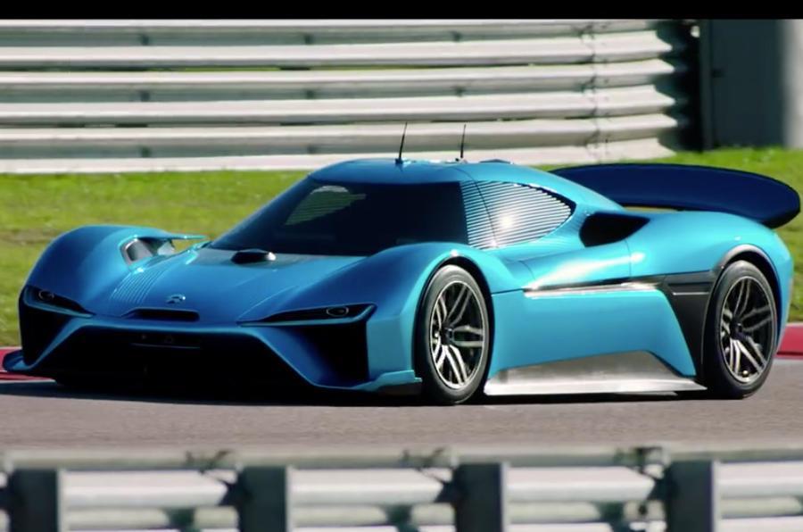 Electric Nio EP9 sets new road-legal Nurburgring lap record