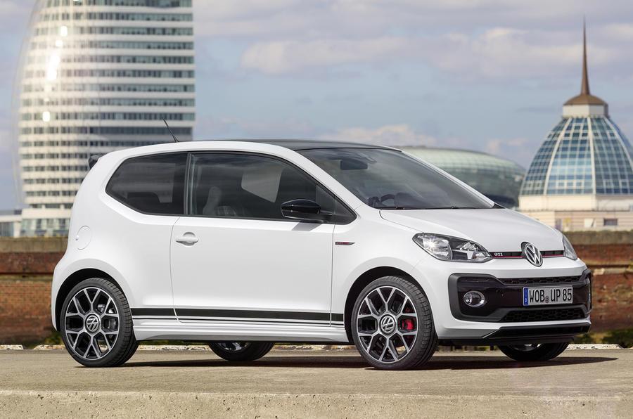 New Volkswagen Up GTi gets 115hp