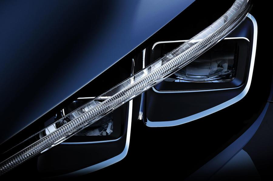 Next-gen Nissan Leaf teased