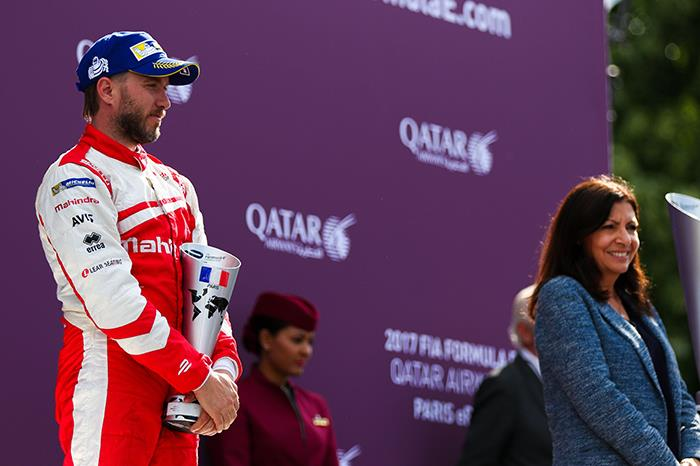 Formula E: Mahindra Racing on the podium in Paris ePrix