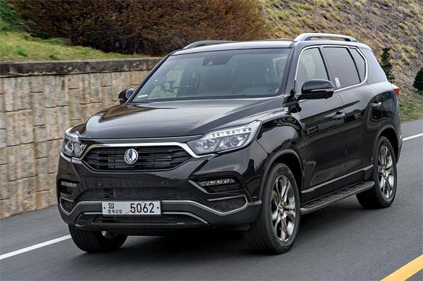 2017 SsangYong G4 Rexton review, test drive