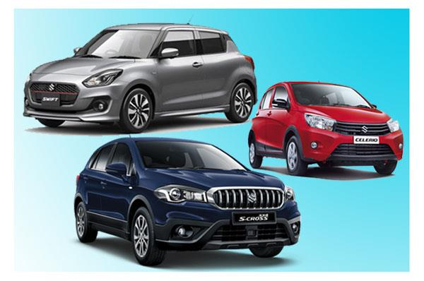Maruti readying three new launches