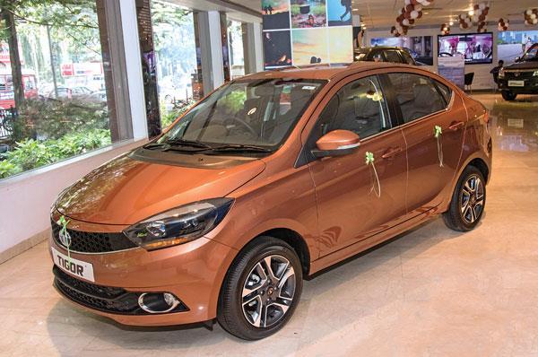 Good demand for Tata Tigor, Tiago AMT