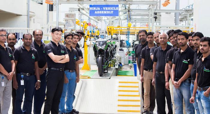 Kawasaki building own motorcycle assembly plant in Pune