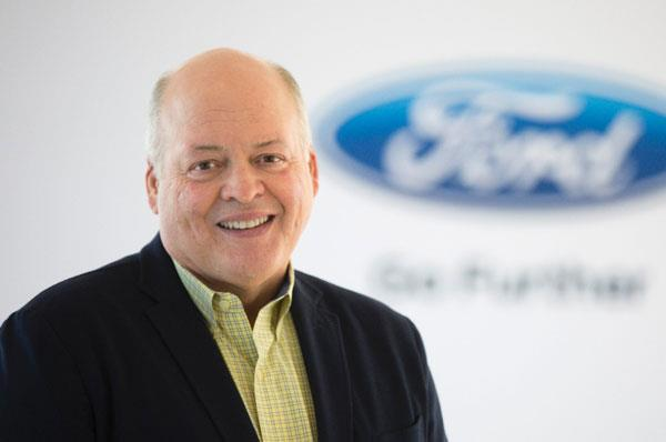 Ford confirms Jim Hackett as new CEO
