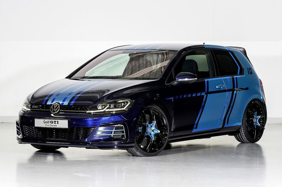 Volkswagen debuts two Golf hybrid concepts