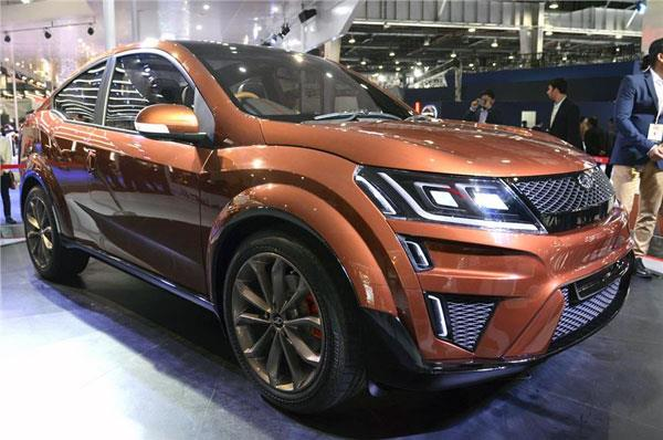 Electric Mahindra XUV Aero on the cards
