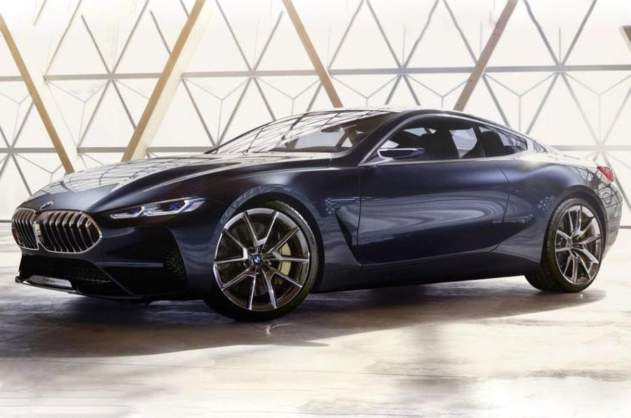 BMW 8-series concept leaked