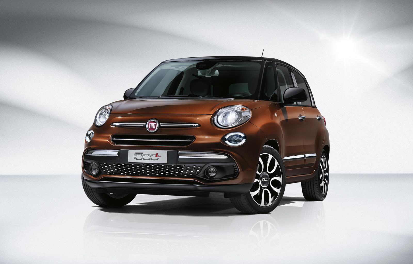 Fiat 500L gets a facelift