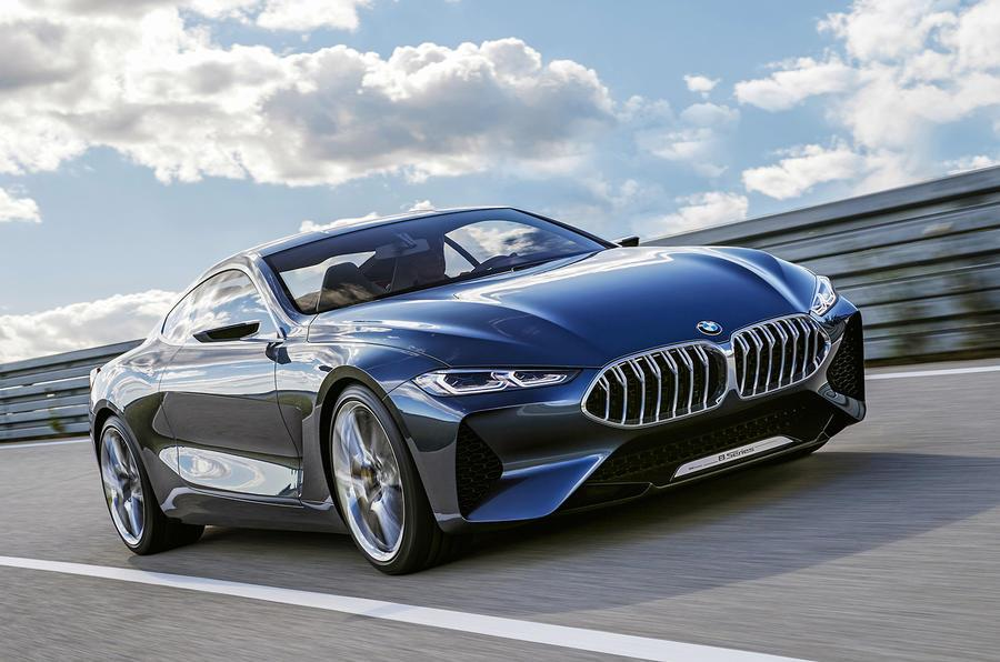 BMW 8-series concept revealed