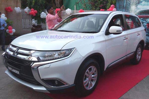 2017 Mitsubishi Outlander India launch soon