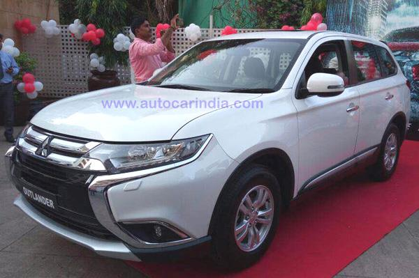 2017 Mitsubishi Outlander India launch soon