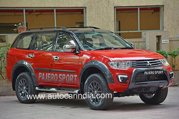 2017 Mitsubishi Pajero Sport Select Plus priced from Rs 30.53 lakh