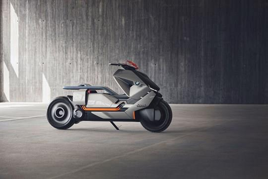 BMW Concept Link electric scooter unveiled