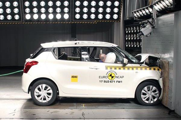All-new Suzuki Swift scores 3 stars in Euro NCAP crash test