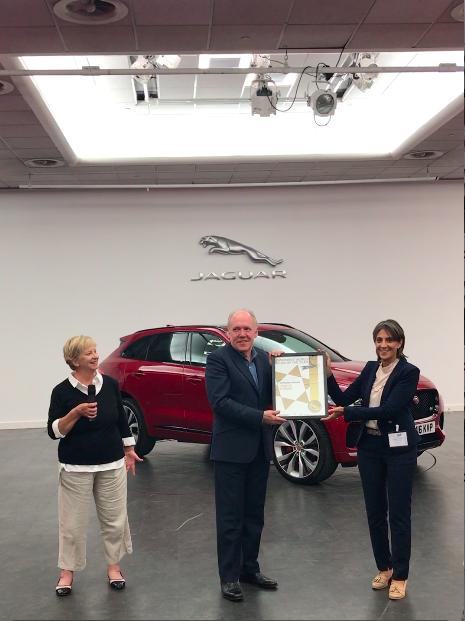 Jaguar F-Pace lifts WWCOTY trophy