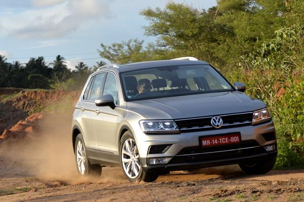 2017 Volkswagen Tiguan India review, test drive