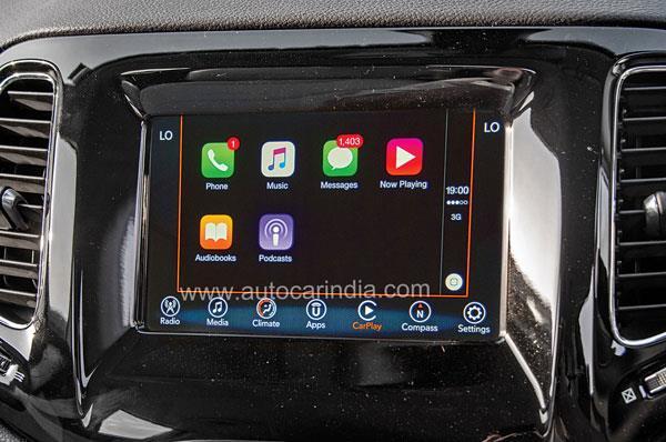 Apple CarPlay improves functionality.