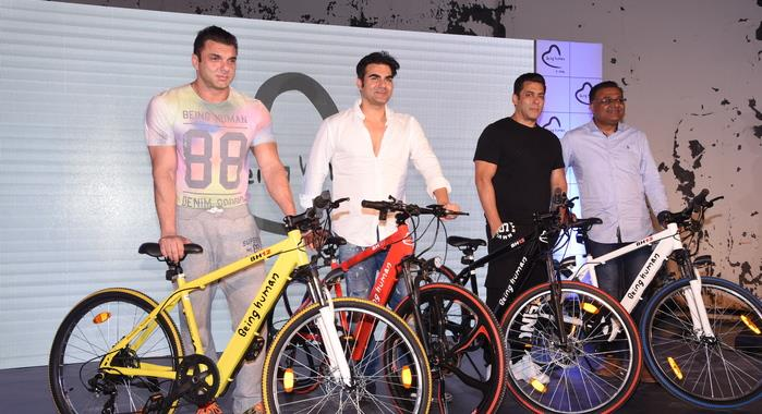 Salman Khan's Being Human launches e-bicycles